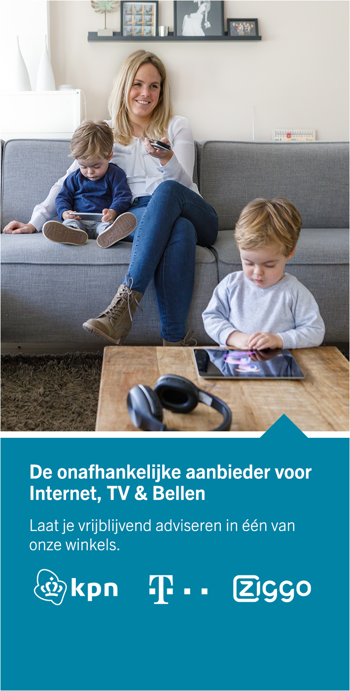 Internet, TV & Bellen
