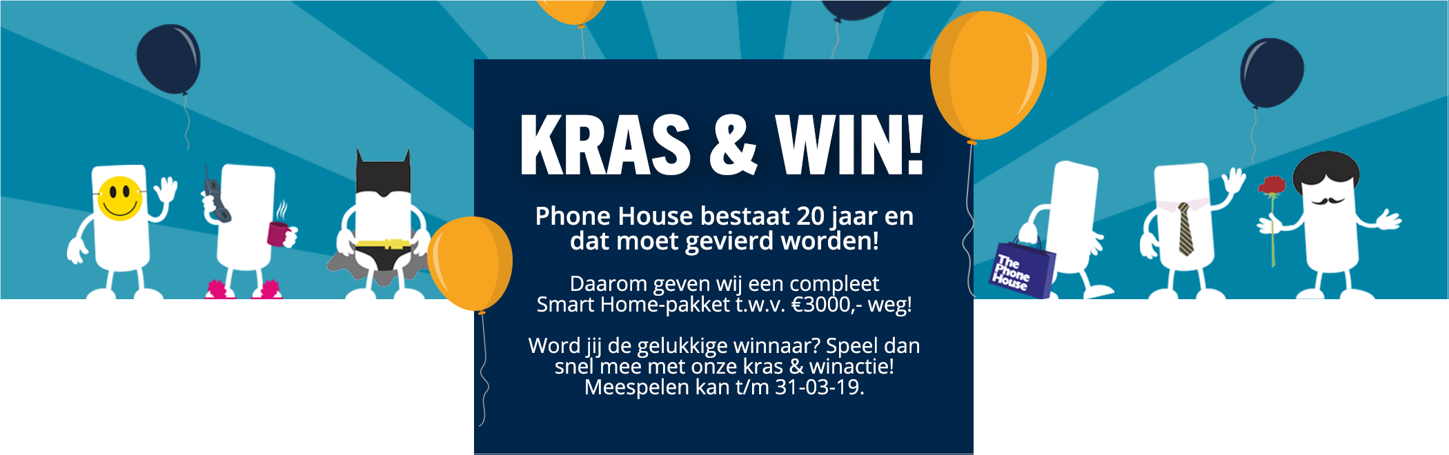 Phone House 20 jaar!