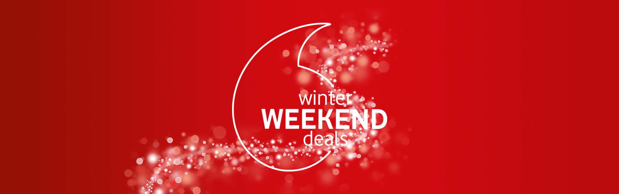 Vodafone Winter Weekend Deals!